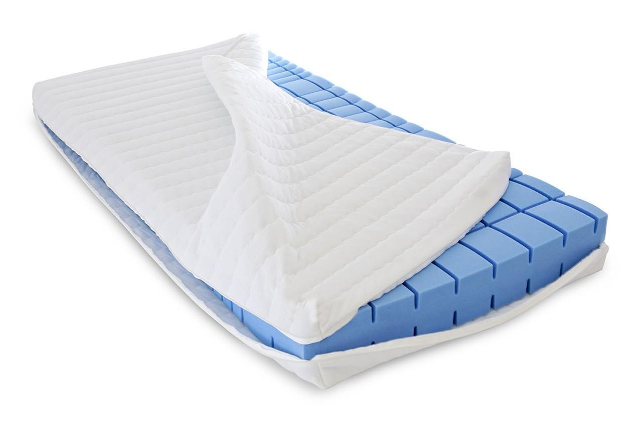 mss lina 7 zonen comfort kaltschaum matratze 200x150 cm rg35 neu ebay. Black Bedroom Furniture Sets. Home Design Ideas