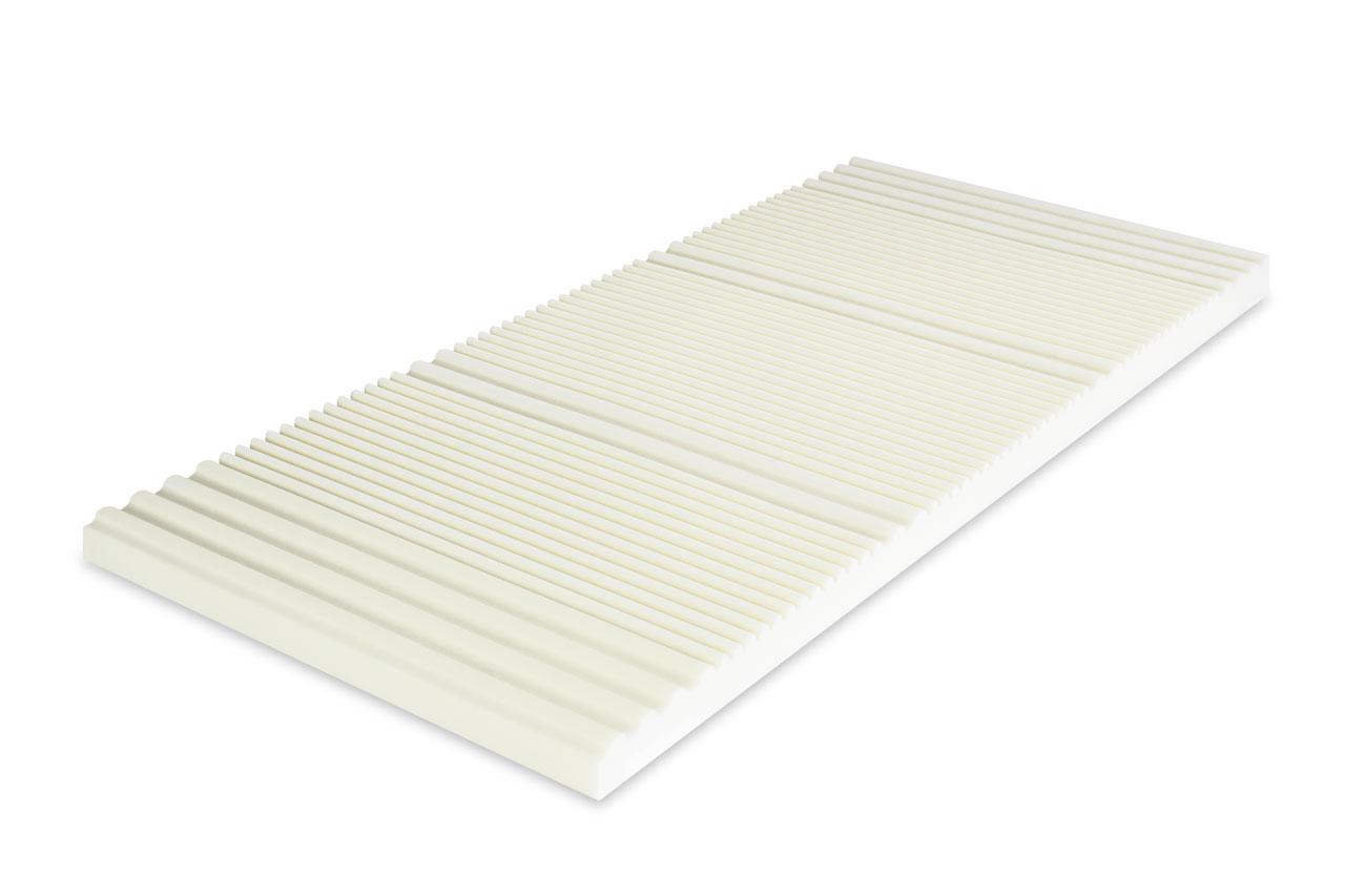 mss viscoelastische matratzenauflage mit 7 zonen einteilung ebay. Black Bedroom Furniture Sets. Home Design Ideas
